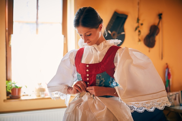 Traditional South Moravian Costumes